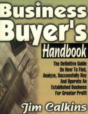 Business Buyer's Handbook 9781892343024