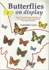 Butterflies on Display: To Cut Out & Glue Together