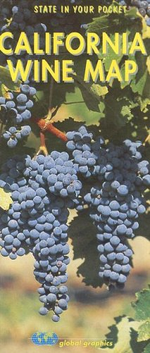 California Wine Map 9781891267581