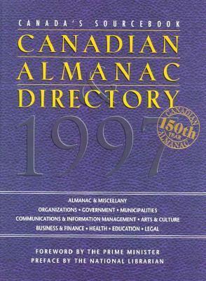 Canadian Almanac & Directory 1997 150 9781895021264
