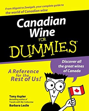 Canadian Wine for Dummies 9781894413183