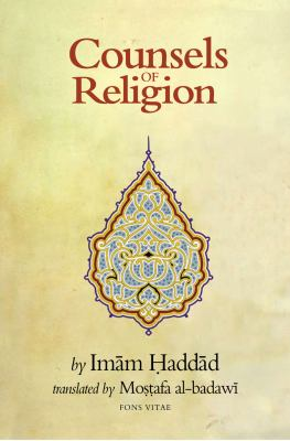 Counsels of Religion 9781891785405