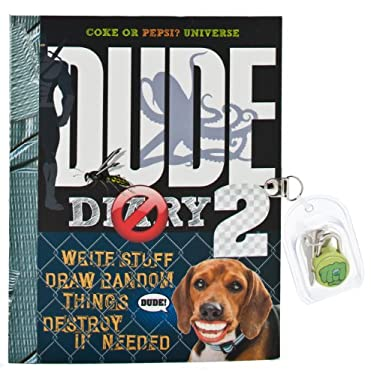 Dude Diary 2 [With Lock and Key] 9781892951533