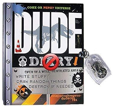 Dude Diary: Write Stuff, Draw Random Things, Destroy If Needed