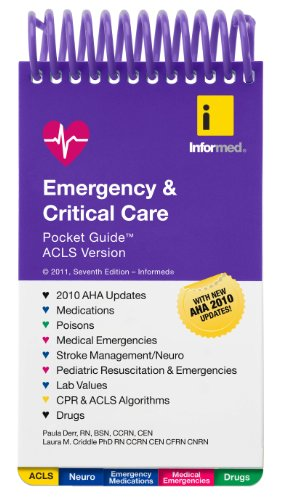 Emergency & Critical Care: Pocket Guide ACLS Version 9781890495589