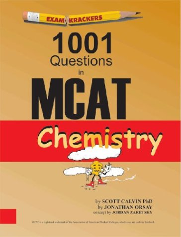 Examkrackers 1001 Questions in MCAT Chemistry 9781893858220