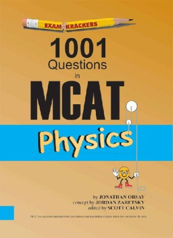 Examkrackers 1001 Questions in MCAT Physics 9781893858183