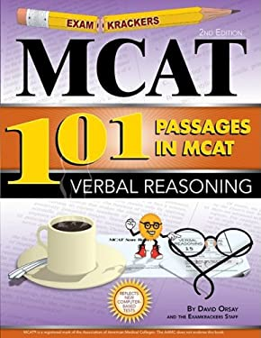 Examkrackers 101 Passages in MCAT Verbal Reasoning 9781893858558