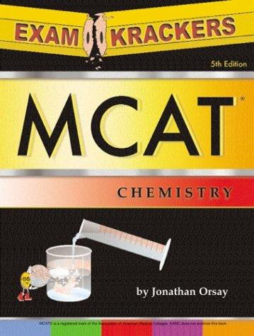 Examkrackers MCAT Chemistry 9781893858343