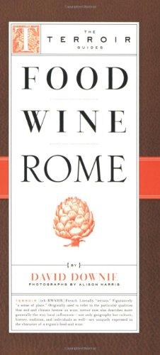 Food Wine Rome 9781892145710