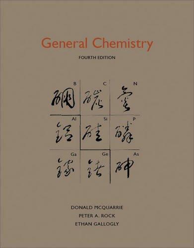 General Chemistry 9781891389603