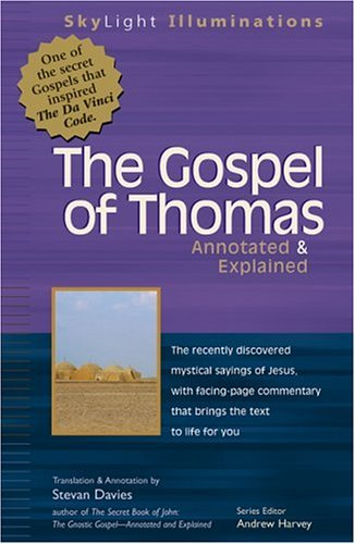 Gospel of Thomas Annotated & Explained 9781893361454