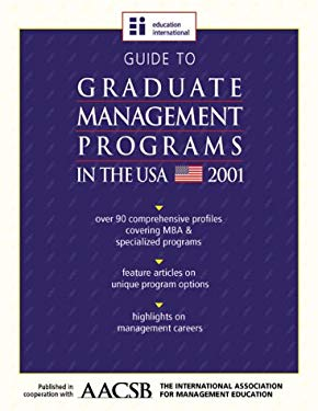 Guide to Undergraduate Business Programs in the USA 2001 9781894122863