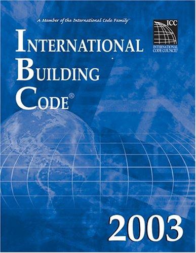 International Building Code 2003 By International Code