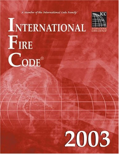 International Fire Code 2003 9781892395603
