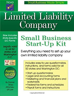 Limited Liability Company: Small Business Start-Up Kit 9781892949370