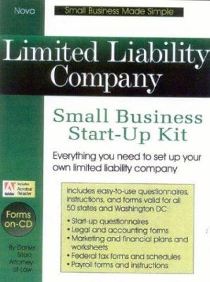Limited Liability Company: Small Business Start-Up Kit [With CDROM] 9781892949042