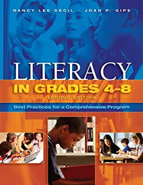 Literacy in Grades 4-8: Best Practices for a Comprehensive Program 9781890871857