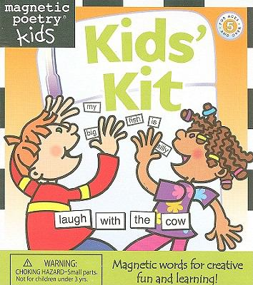 Magnetic Poetry Kids' Kit [With 350 Magnetized Words]
