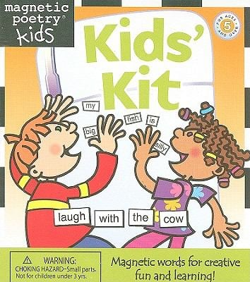 Magnetic Poetry Kids' Kit [With 350 Magnetized Words] 9781890560027