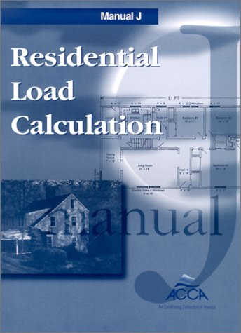 Manual J: Residential Load Calculation 9781892765017