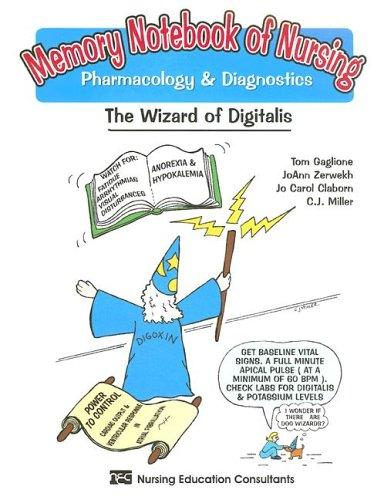 Memory Notebook of Nursing: Pharmacology & Diagnostics 9781892155078