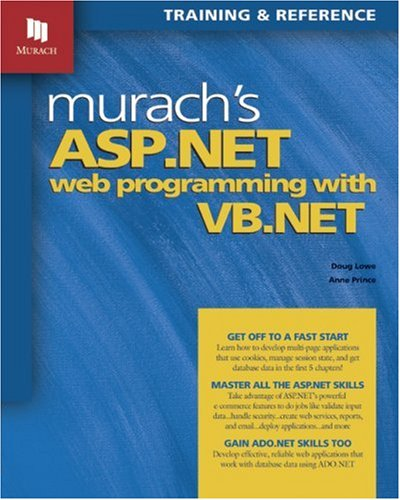 Murach's ASP.NET Web Programming with VB.NET 9781890774202