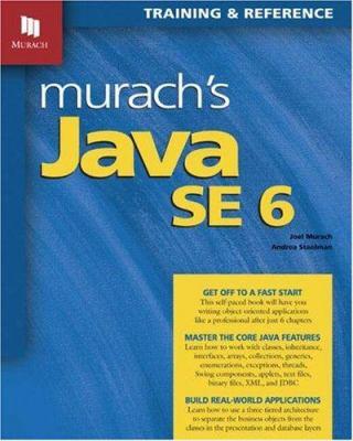 Murach's Java SE 6 9781890774424