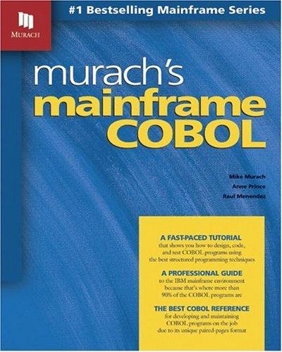 Murach's Mainframe COBOL 9781890774240