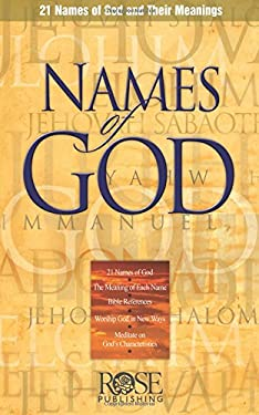 Names of God Pamphlet: 21 Names of God and Their Meanings 9781890947507