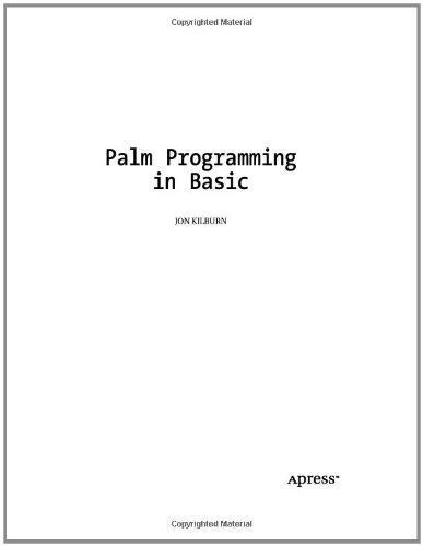 Palm Programming in Basic 9781893115491