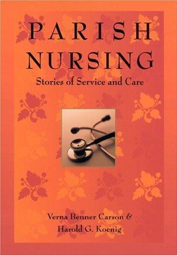 Parish Nursing 9781890151942