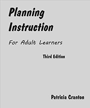 Planning Instruction for Adult Learners 9781895131253