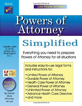Powers of Attorney Simplified 9781892949400