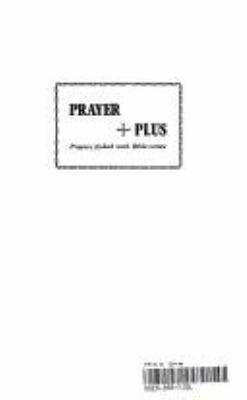 Prayer Plus 9781898595014