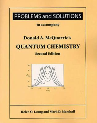 Quantum Chemistry: Problems and Solutions 9781891389528