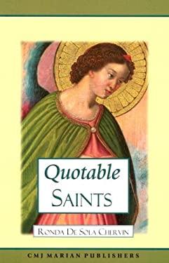 Quotable Saints 9781891280344