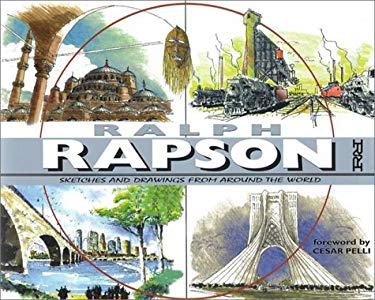 Ralph Rapson: Sketches and Drawings from Around the World 9781890434496