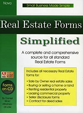 Real Estate Forms Simplified [With CDROM] 9781892949097