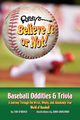 Ripley's Believe It or Not! Baseball Oddities & Trivia 9781893951297