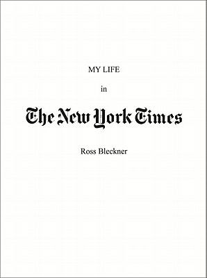 My Life in the New York Times 9781893207271