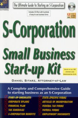 S-Corporation: Small Business Start-Up Kit 9781892949530