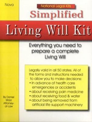 Simplified Living Will Kit 9781892949226