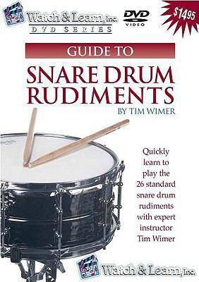 Snare Drum Rudiments 9781893907577