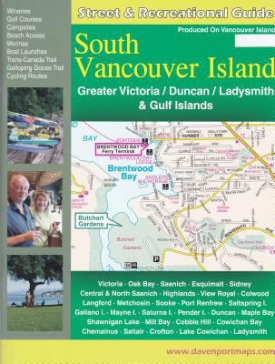 Street Guide & Recreational Atlas of South Vancouver Island 9781896888125