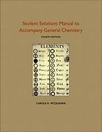Student Solutions Manual to Accompany General Chemistry 9781891389733