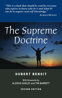 The Supreme Doctrine: Psychological Studies in Zen Thought (Second Edition) 9781898723141