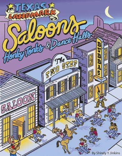 Texas Landmark Saloons, Honky Tonks & Dance Halls 9781892588227