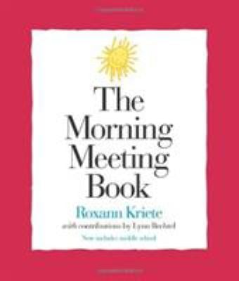 The Morning Meeting Book 9781892989093