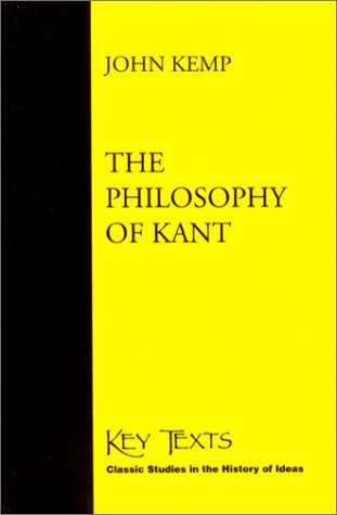 The Philosophy of Kant 9781890318727